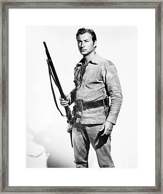 The Deerslayer, Lex Barker, 1957, �20th Framed Print