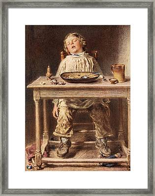 The Defeat, 1834 Framed Print by William Henry Hunt