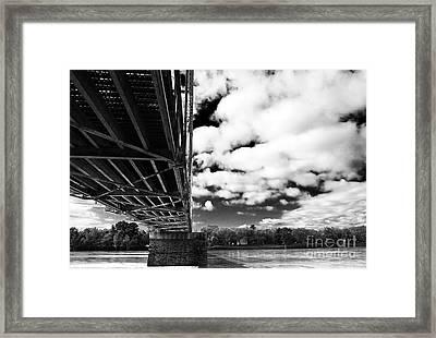 The Delaware River Framed Print