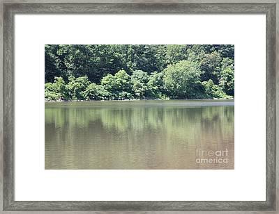 The Delaware Water Gap Framed Print by John Telfer