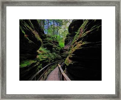 The Dells 044 Framed Print