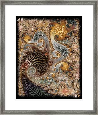 The Delta Framed Print by Kim Redd