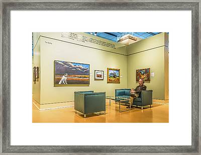 The Delta Framed Print by Maria Coulson