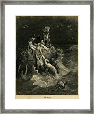 The Deluge Framed Print by Celestial Images