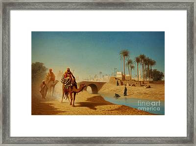 The Departure Framed Print by Celestial Images