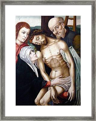 The Deposition Framed Print by Rogier van der Weyden