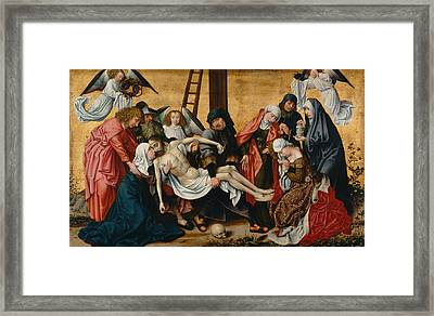 The Deposition Framed Print by Rogier van der Weyden