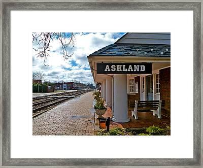 The Depot Framed Print