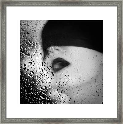 The Depth Of Self-delusion Framed Print