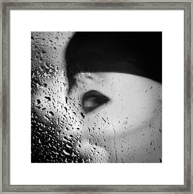 The Depth Of Self-delusion Framed Print by Taylan Apukovska