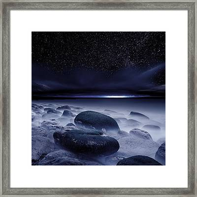 The Depths Of Forever Framed Print