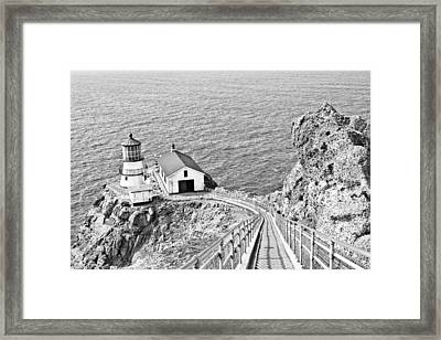 The Descent To Light Framed Print