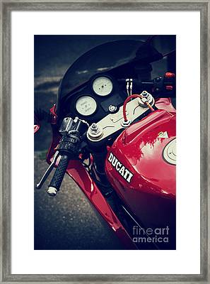 The Desmo Framed Print