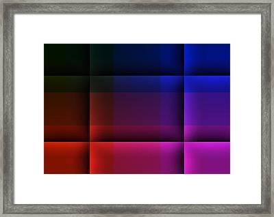 The Destiny Arena Framed Print