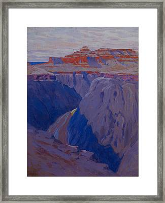 The Destroyer Framed Print by Arthur Wesley Dow