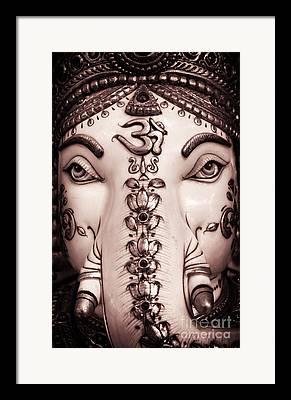 Ganapati Framed Prints