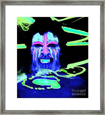 The Destroyer Of Worlds Framed Print by Xn Tyler