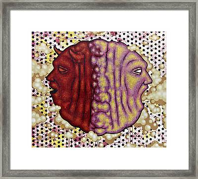 The Devil In Me Framed Print by Ray Evans