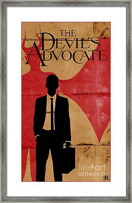The Devil's Advocate 1 Framed Print