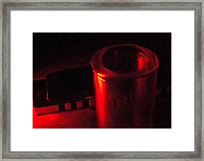 The Devil's Music - Once Framed Print