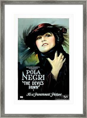 The Devil's Pawn Pola Negri Framed Print