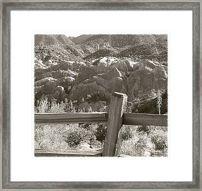 The Devils Punchbowl - California Framed Print by Glenn McCarthy Art and Photography