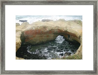 The Devil's Punchbowl Framed Print