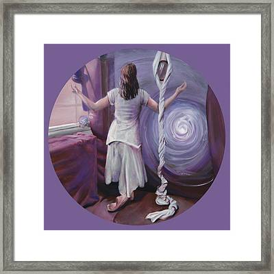 The Devotee Framed Print