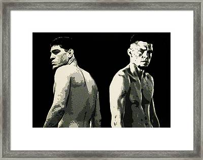 The Diaz Bros Framed Print
