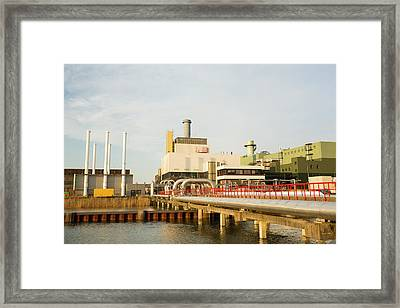 The Diemen Combined Heat And Power Plant Framed Print by Ashley Cooper