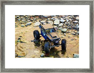 The Difference Between Men And Boys... Framed Print
