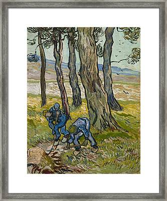 The Diggers Framed Print