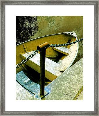 The Dinghy Image C Framed Print