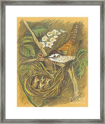 The Dinner Bill Framed Print by Carol Wisniewski