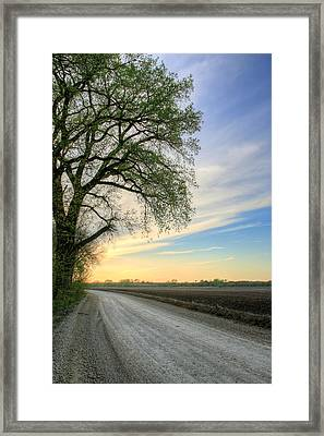 The Dirt Road Framed Print by JC Findley