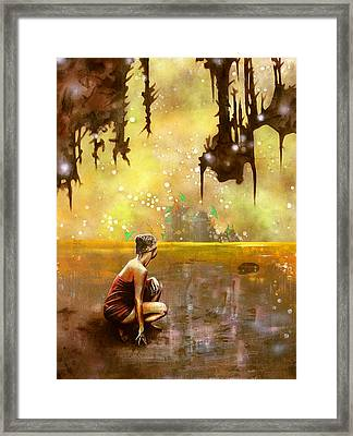The Disapearing Framed Print