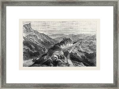 The Disaster On The Great Indian Peninsula Railway Framed Print by Indian School