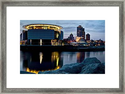 Framed Print featuring the photograph The Discovery Of Miwaukee by Deborah Klubertanz