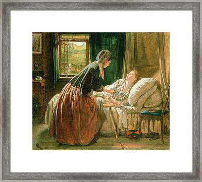 The Discovery Framed Print by Thomas Edward Roberts