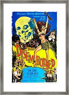 The Disembodied, Us Poster, Bottom Left Framed Print by Everett