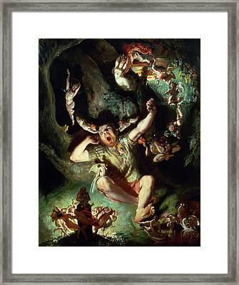 The Disenchantment Of Bottom Framed Print by Daniel Maclise