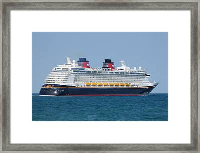 The Disney Dream Framed Print