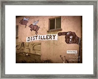The Distillery Framed Print