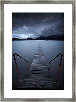 The Dive Framed Print