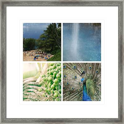 The Divine Child Framed Print by Sharon Mau