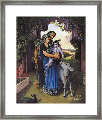 The Divine Family Framed Print