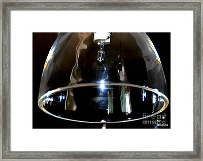 The Division Bell Framed Print by Sue Rosen