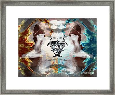 The Division Cycle Framed Print