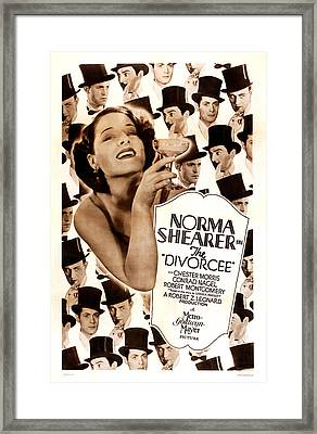 The Divorcee, Robert Montgomery Framed Print by Everett