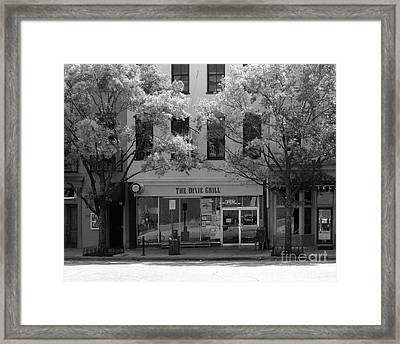 The Dixie Grill Framed Print